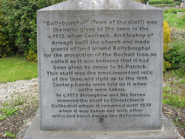 Potted history of Ballyboughal, Co. Dublin