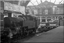 SE1632 : Bradford Exchange Station, with locomotive by Ben Brooksbank