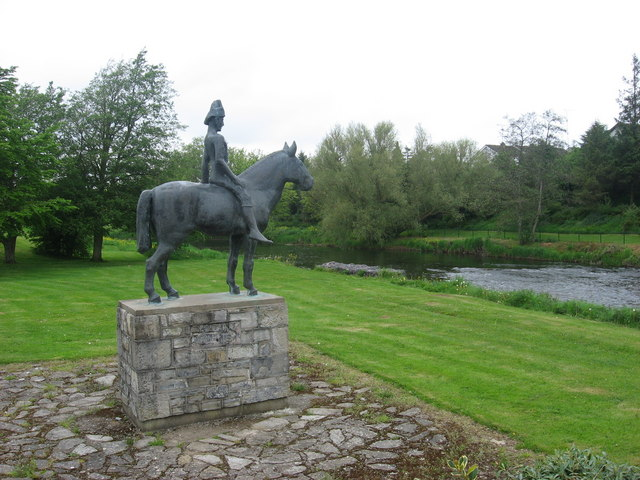Equestrian statue at Trim