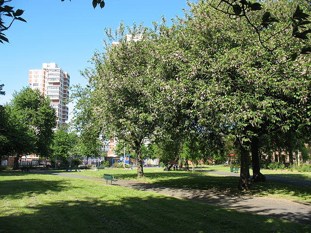 King George's Field, Rotherhithe