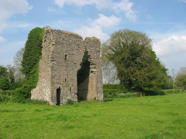 Medieval Gatehouse at Moymet, Co. Meath