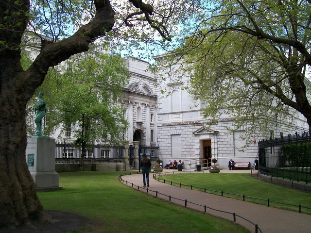 The Natural History Galleries of the National Museum of Ireland in Upper Merrion Street