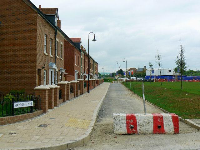 Stannon Lane, East Wichel, Wichelstowe, Swindon