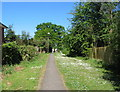 SP3075 : Path off Abberton Way by E Gammie