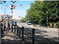 TQ3579 : Zebra crossing on Surrey Docks Road by Stephen Craven