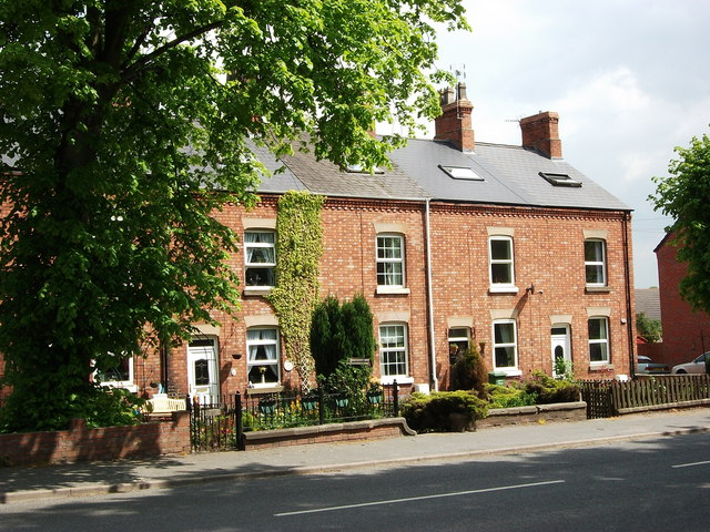 Victorian houses, Coleshill Road, Ansley Common