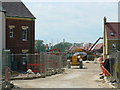 SU1482 : Activity at East Wichel, Wichelstowe, Swindon by Brian Robert Marshall