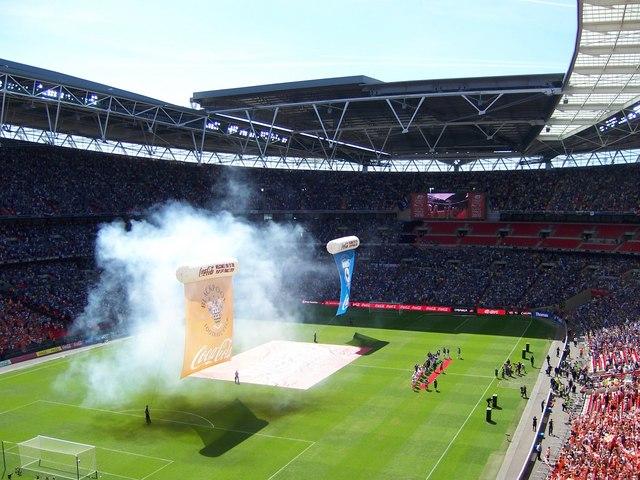 Isn't Wembley a No Smoking Stadium?