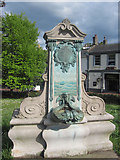 SX9364 : Memorial Drinking fountain at Wellswood by John Firth