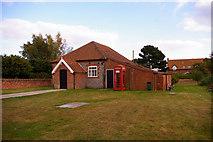 TG0934 : Village Hall, Edgefield, Norfolk by Christine Matthews