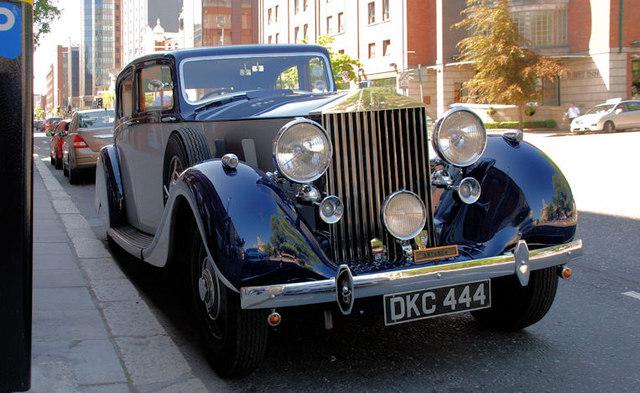Rolls Royce Silver Phantom III, Belfast