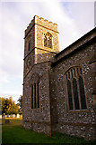 TG0934 : Tower, St Peter and St Paul, Edgefield, Norfolk by Christine Matthews