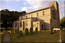 TG0934 : St Peter and St Paul Church, Edgefield, Norfolk by Christine Matthews