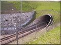 TQ7560 : Southern portal of North Downs Tunnel by Kenneth Yarham