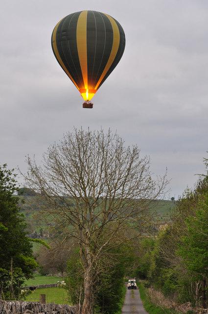 Hot air balloon - Aldwark