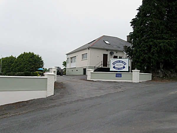 Golf Club Entrance