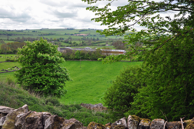 View to Foufinside Farm - parwich