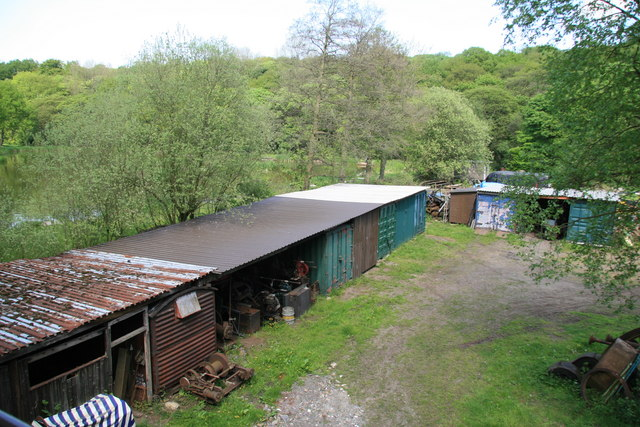 Wortley Top Forge - storage area