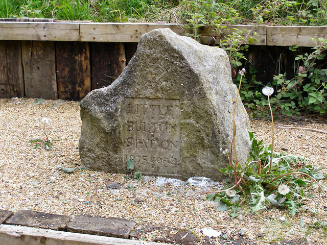 Commemorative Stone, Little Hulton Station
