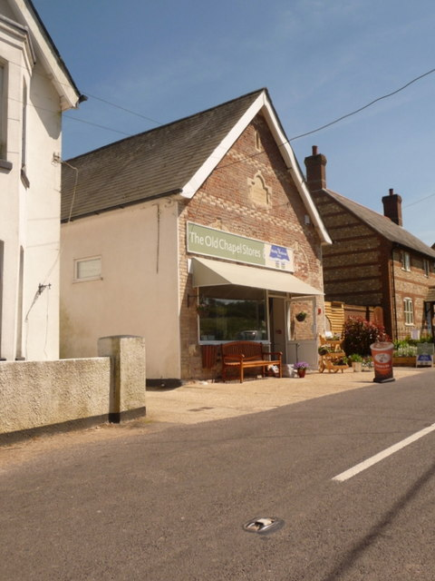 Buckland Newton: the Old Chapel Stores