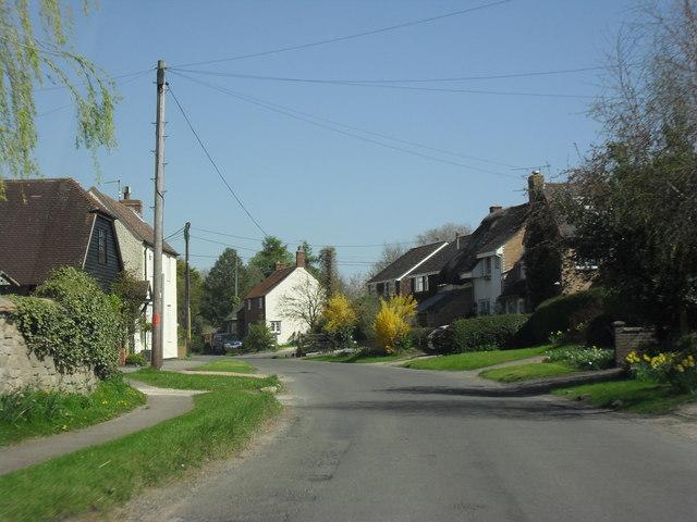 Village street, West Hanney