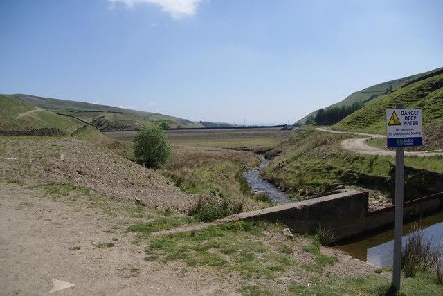 The top end of Naden Higher Reservoir