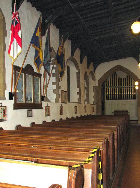 St Edmund's church in Downham Market - north aisle