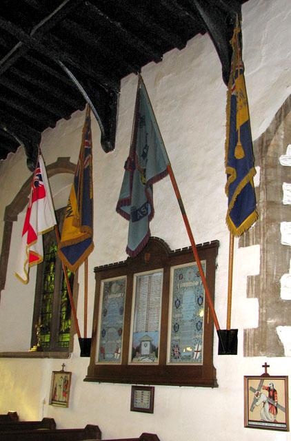 St Edmund's church in Downham Market - war memorial