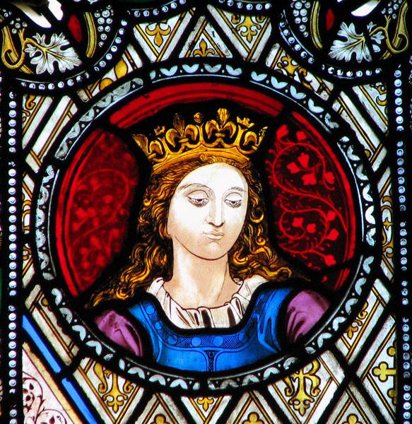 St Edmund's church in Downham Market - stained glass