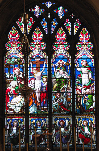 St Edmund's church in Downham Market - east window
