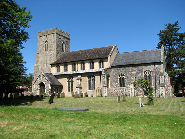 St Mary's church in Yaxley