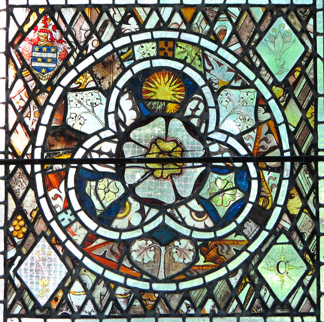St Mary's church in Yaxley - stained glass