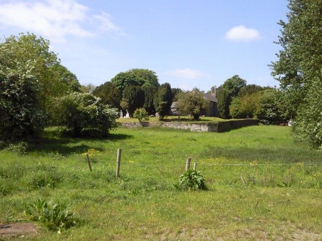 Kilmessan Church and Graveyard, Co Meath
