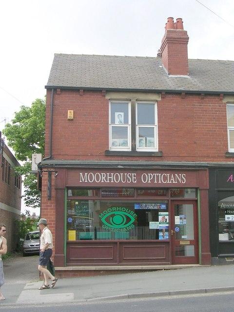 be3357528db0 Moorhouse Opticians - Main Street © Betty Longbottom    Geograph ...