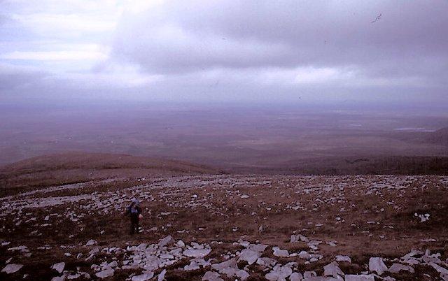 Birreencorragh, the north ridge