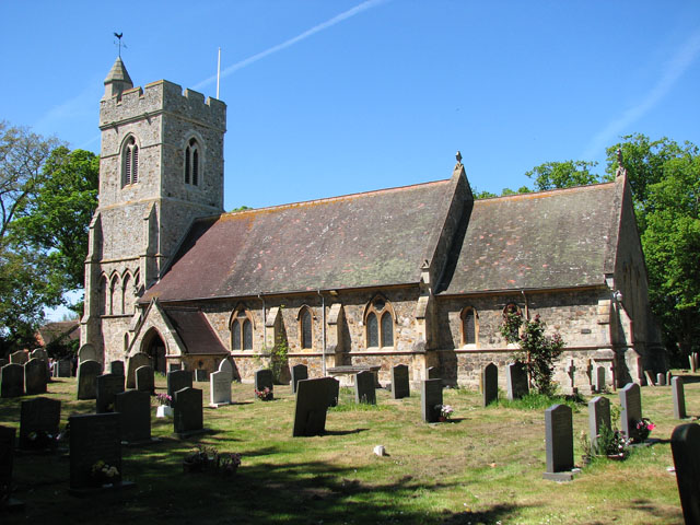 All Saints' church in North Wootton