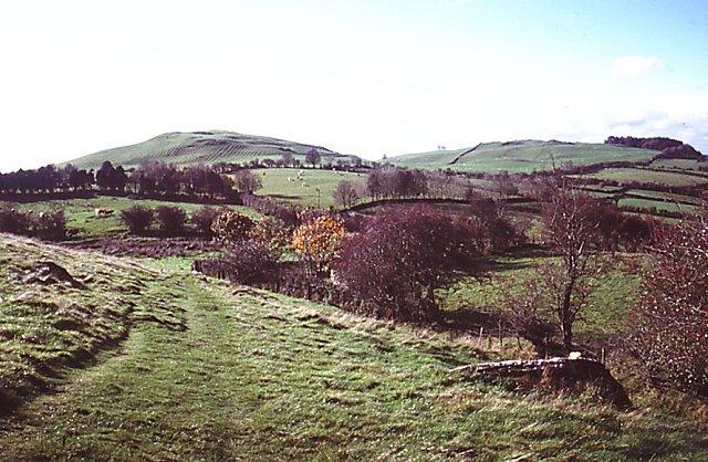 Path on Slieve na Calliagh