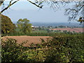 SO6689 : View from bridleway outside Bine Cottage by John Parton