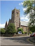 ST3288 : Grade II listed St John the Evangelist church, Newport by Jaggery
