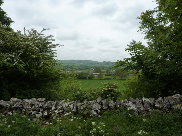 A view of Foufinside Farm, Parwich