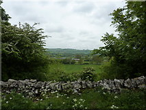 SK1855 : A view of Foufinside Farm, Parwich by Peter Barr
