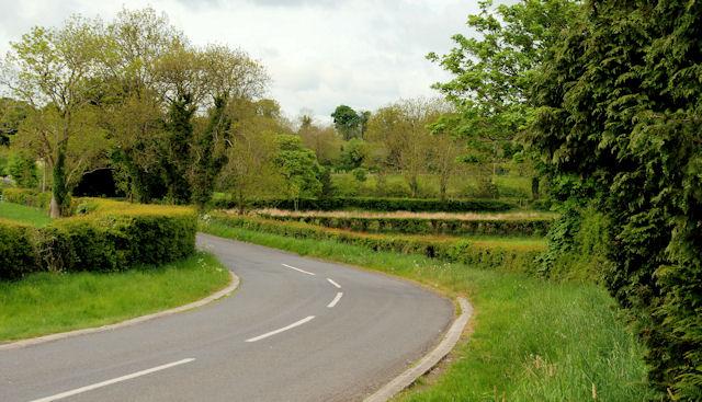 The Creevytennant Road near Ballynahinch