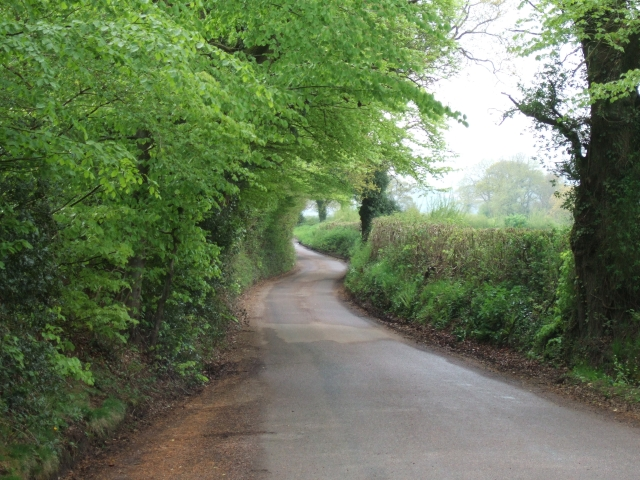 Looking down a side road off the B3180