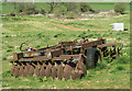 ST6050 : 2010 : Dunploughing, laid to rest in a field near Emborough by Maurice Pullin