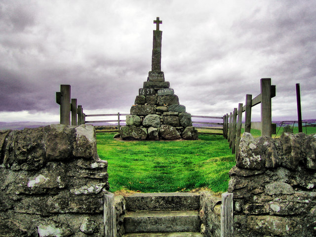 Maggie Wall's monument