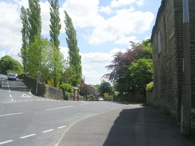 Wheatley Road - viewed from end of Denfield Lane
