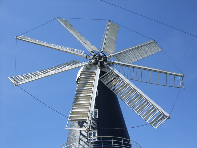 The eight sails of Heckington Mill