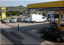 SX8460 : Jet Service Station, Totnes Road by Roger Cornfoot