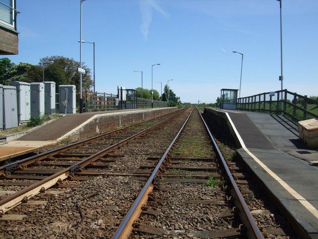 Hubbert's Bridge Railway Station