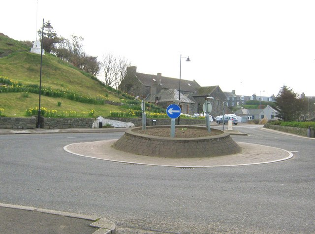 The roundabout, Port William